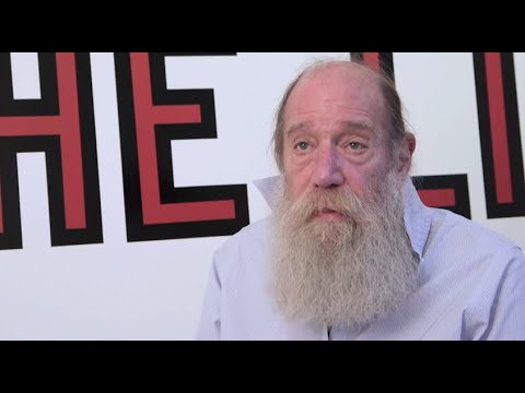 American artist Lawrence Weiner introduces his exhibition ALL IN DUE COURSE at the South London Gallery