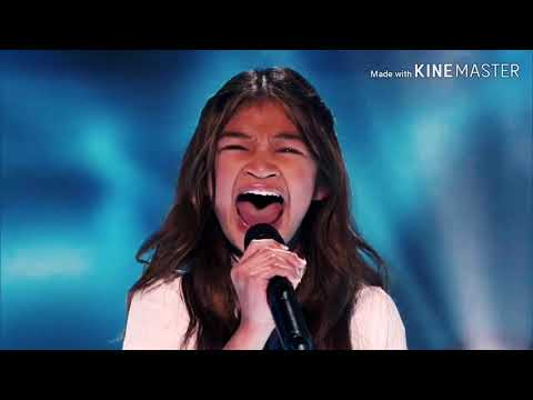 Angelica Hale wins Big on Americas Got Talent Champions (видео)