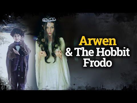 How to dress up like Arwen & The Hobbit Frodo / Cómo disfrazarse de Arwen y Frodo.