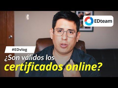 ¿Son válidos los certificados online? - #EDvlog 19