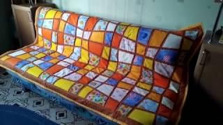 """Лоскутное одеяло """"Витражи"""""""