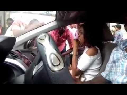 Breaking: Igbo Ashawo Demand 20k from her fuck Mate at Uniuyo Main Gate - See drama.