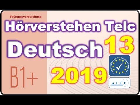 Modelltest 13 B1 Plus Beruf Hörverstehen Deutsch 29042019