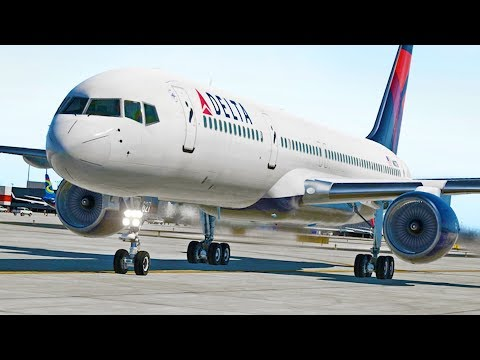 Delta Boeing 757 to Atlanta | X-Plane 11