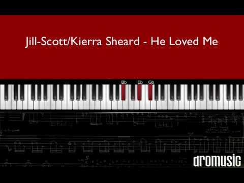 "How to play ""Lyzel He Loved Me"" Jill Scott (piano tutorial)"