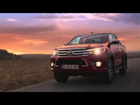 Toyota  Hilux Пикап класса J - рекламное видео 1