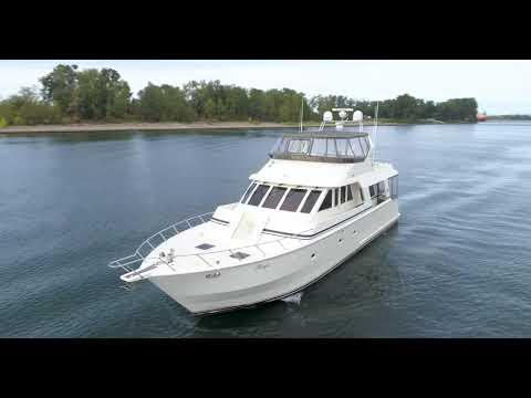President Legend 630 Motoryacht video