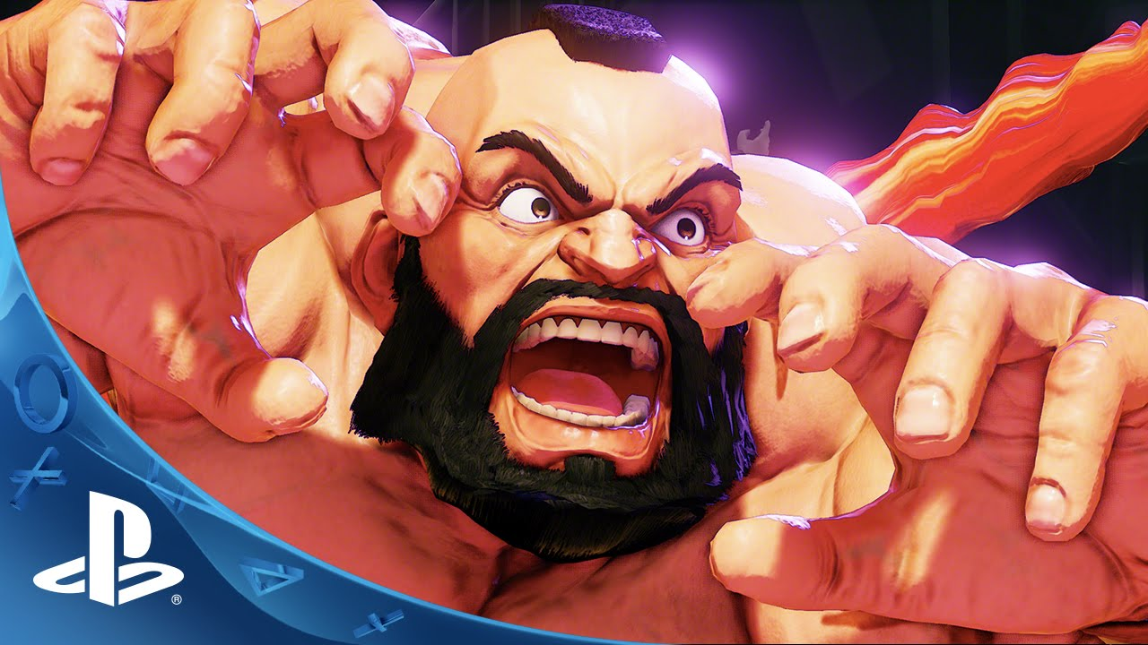 Street Fighter V: Zangief Joins Roster, Piledrives Everyone
