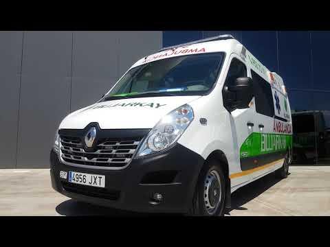 Bujarkay S.L presenta su nueva flota de ambulancias con las últimas novedades tecnológicas
