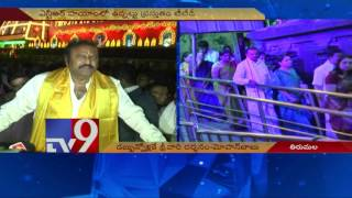 Mohan Babu Sensational Comments On TTD Officials  TV9
