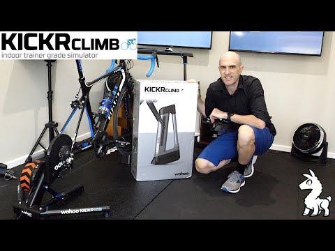 20:50  Wahoo KICKR CLIMB Gradient Simulator: Unboxing, instalatie, Ride Review.