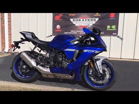 2021 Yamaha YZF-R1 in Greenville, North Carolina - Video 1