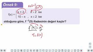 Eğitim Vadisi TYT Matematik 40.Föy Fonksiyonlar Konu Anlatım Videoları