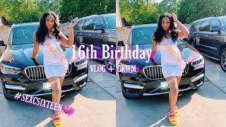 16TH BIRTHDAY IN QUARANTINE VLOG + GRWM| Ziye' Taylor
