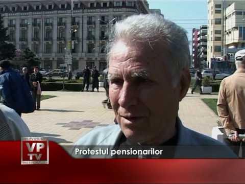 Protestul pensionarilor