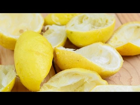Video 6 Surprising Lemon Peel Benefits - You'll NEVER Throw Them Away Again!