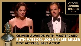 Olivier Awards With MasterCard 2012 - Best Actress and Best Actor