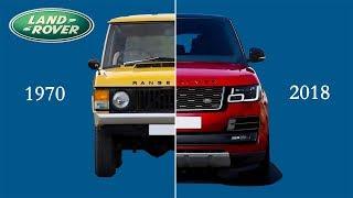 Range Rover Evolution (1970 - 2018) | New Vs Old