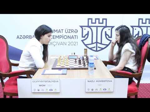 Qadınlar arasında Şahmat üzrə Azərbaycan çempionatı- Naxçıvan 2021 (7-ci turdan video icmal) 1