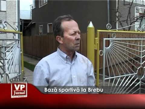 Bază sportivă la Brebu