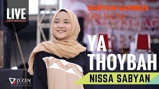Gambar cover Ta Thoybah - Nissa Sabyan Gambus Live Semanan
