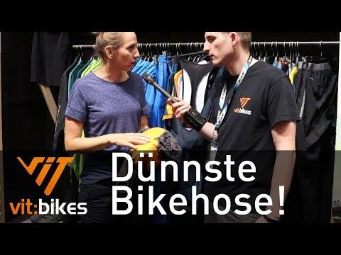 Dünnste Bikehose mit SQ-Lab Polster - vit:bikesTV Eurobike Spezial 124