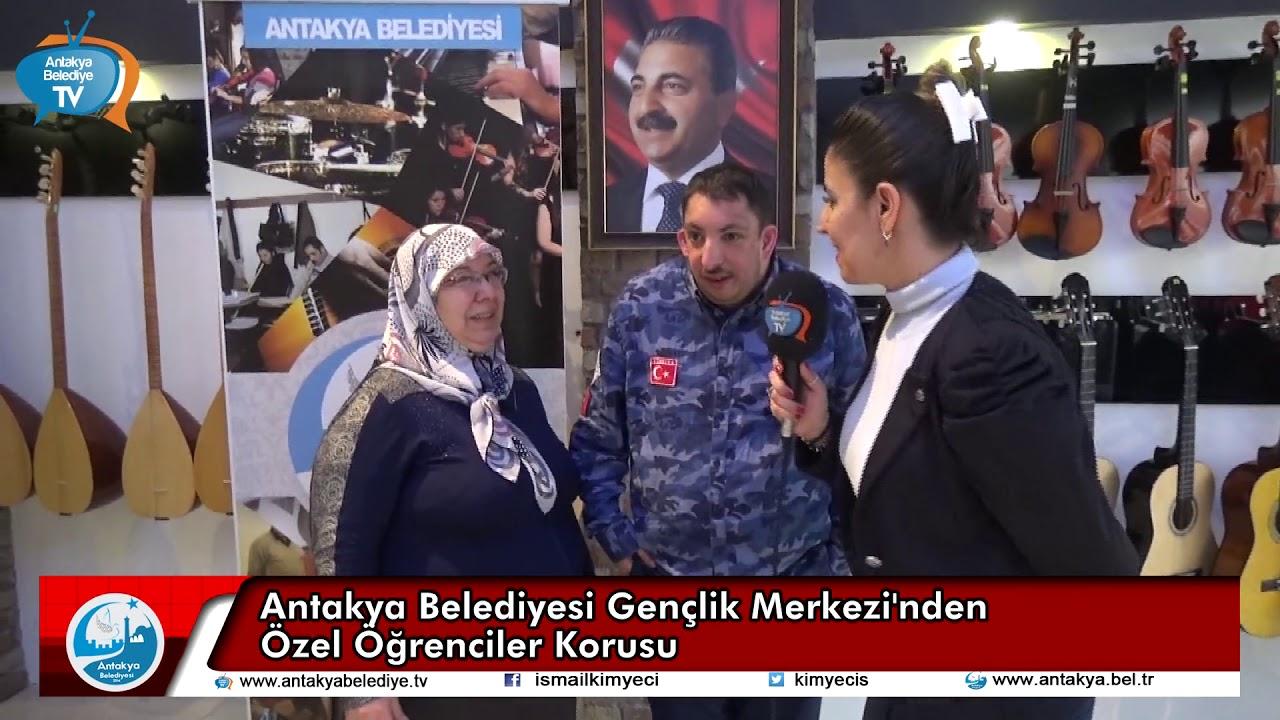 ANTAKYA BELEDİYESİ MERKEZİ'NDEN ÖZEL ÖĞRENCİLE...
