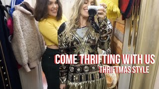 COME THRIFTING WITH US// CHRISTMAS EDITION