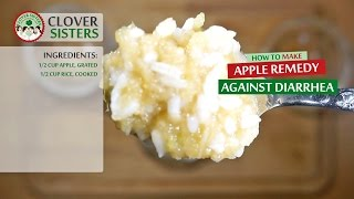 Apple remedy against diarrhea