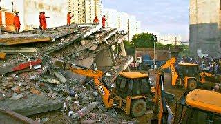 В Индии обрушилась шестиэтажка, не менее троих погибших