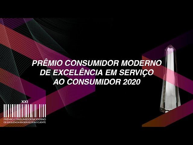 PRÊMIO CONSUMIDOR MODERNO 2020