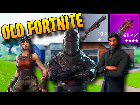 when fortnite was actually fun (season 1 3 emotional nostalgia)