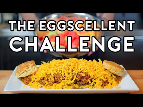 Binging with Babish 3 Million Subscriber Special: The Eggscellent Challenge from Regular Show