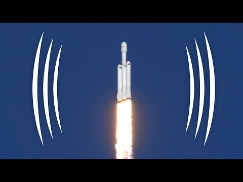 what did the falcon heavy launch sound like the rocketry blog. Black Bedroom Furniture Sets. Home Design Ideas