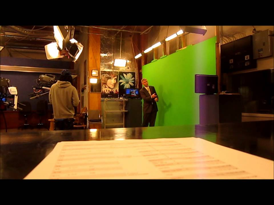 The Inside of WCTI News Channel 12 / the Recording of Noon News and StormTrack12 Weather