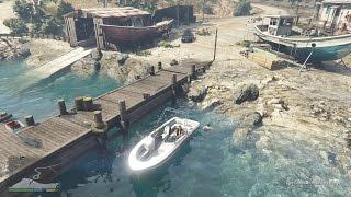 GTA 5 Phượt #9 - Khám phá khu căn cứ bí mật dưới đáy biển
