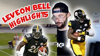 Rugby Player Reacts to LE'VEON BELL NFL Highlights!