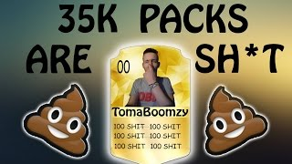 35K PACKS ARE SHIT  FIFA 16