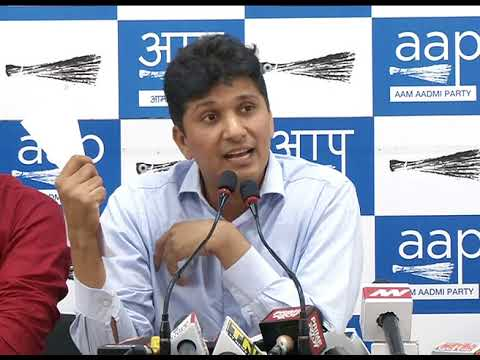 AAP Chief Spokesperson Briefs Media on CCTV issue
