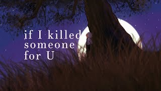 Alec Benjamin  ~ If I Killed Someone For You (Lyrics)