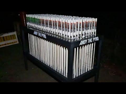 250 x Zink 901 & Zink 902 | Salute Rockets