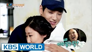 Building the house with daily worker Kwak Si-yang [Sister's Slam Dunk/2017.01.13]
