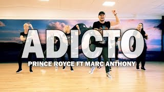 ADICTO   Prince Royce Ft Marc Anthony | Zumba Fitness Choreo