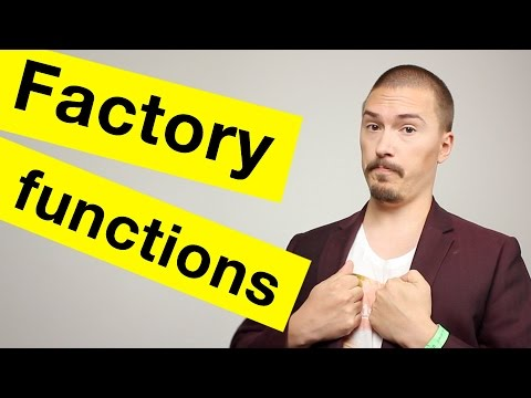 Factory Functions in JavaScript
