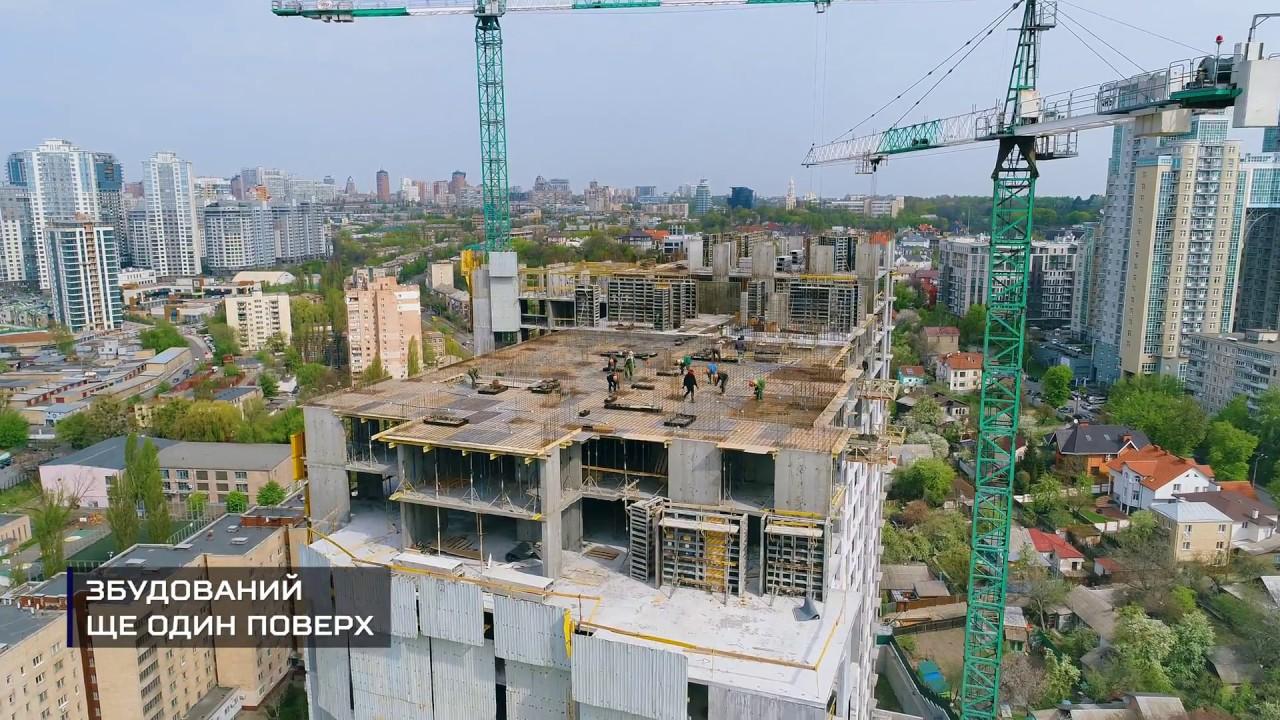 Новопечерська вежа - Травень 2018