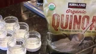 Homemade Baby Quinoa Cereal