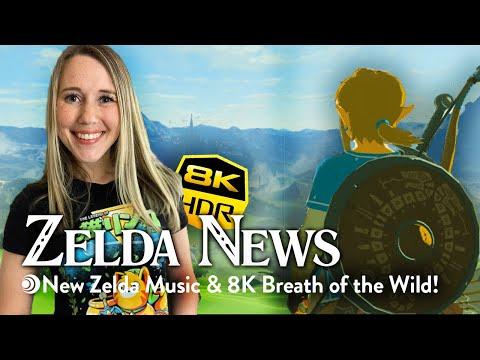 Zelda News: New Zelda fan music, Breath of the Wild in 8K, Super Nintendo World open