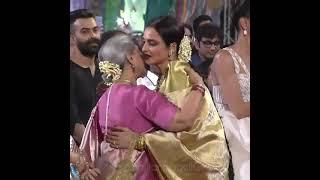 #rekha #rekhaji #jayabachchan Rekha Ji Meets Jaya Bachchan Mam | Jaya Bhaduri | O Jiji  Song |