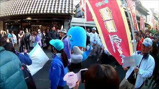 散歩動画2017年ゆるキャラグランプリうなりくん祝勝パレード