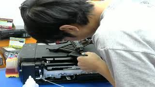 CANON MP287 Error P07 ผ้าซับหมึกเต็ม